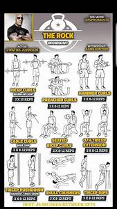 The Rock Workout Plan