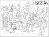 Narnia Coloring Chronicles Pages Colouring Sheet Realistic Printable Witch Adult Peter Adults Sheets Wardrobe Lion Pevensie Lucy War Tumnus Mr sketch template