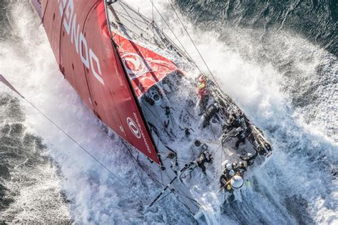 huge storm hits volvo ocean race fleet seabreeze