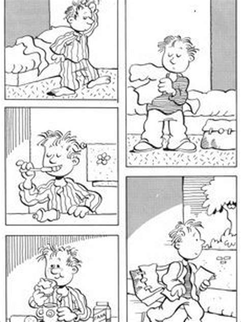 comic strip template  word   formats