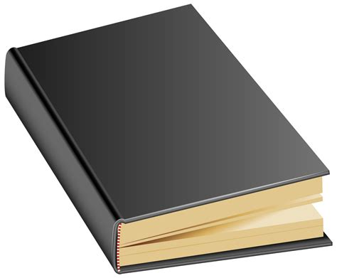 book cover png black book png clipart