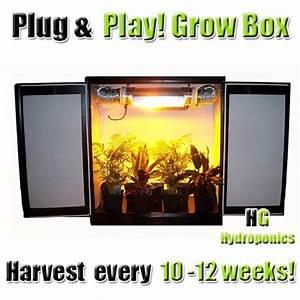 Under Cabinet Grow Light Mini Stealth Grow Box