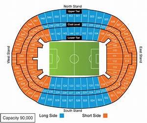 Wembley Stadium Seating Plan Tottenham Hotspur Seating