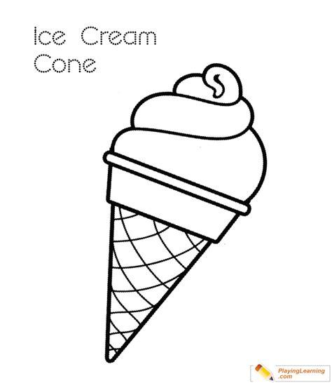 ice cream cone coloring page   ice cream cone