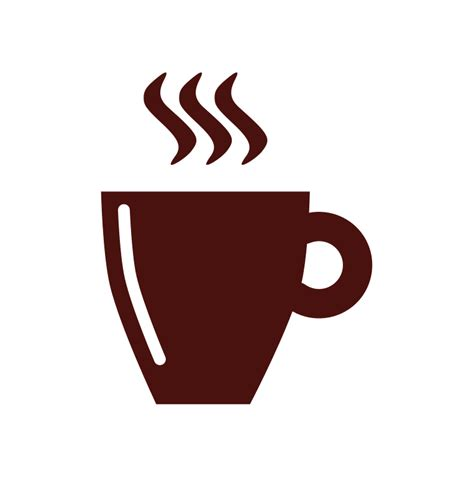 Coffee cup logo template royalty free vector image. File:Coffee cup flat.svg - Wikimedia Commons