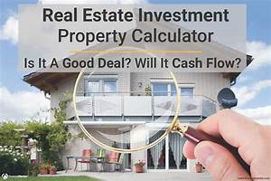 Auto Amortization Real Estate Calculator For Analyzing Investment Property