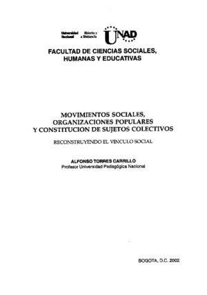 calameo movimientos sociales  organizaciones populares