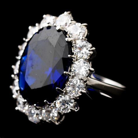 royal princess kate sapphire ring bridal hair