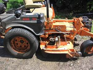 2004 Scag Tiger Cub 48 U0026quot  19 Kaw W  Bagger