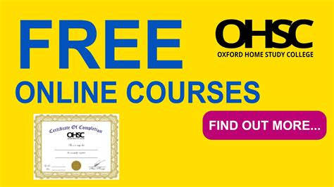 Free Online Courses With Certificates  Free Online