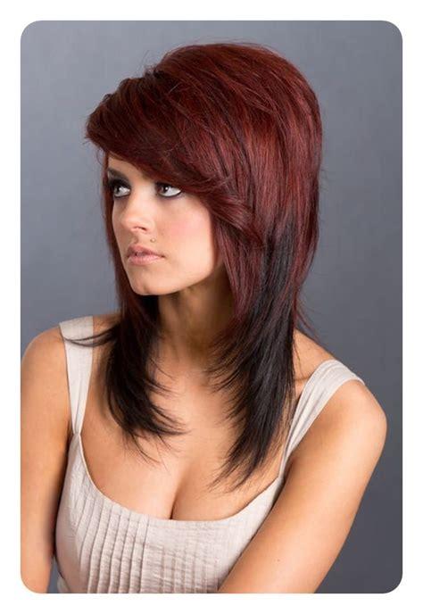 long  short shag haircuts   style easily