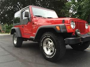 1999 Jeep Wrangler Tj Only 96k Miles 4 0l Hard Top  5