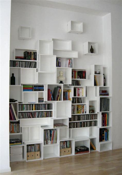 biblioth 232 que avec cubes de toutes tailles