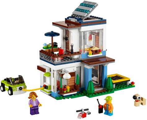 31068 1 modular modern home brickset lego set guide