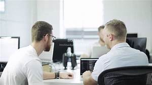 People Working in an Office - Website Background Video ...