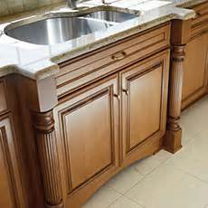 kitchen base cabinets with legs cabinet accents embellishments masterbrand 7727