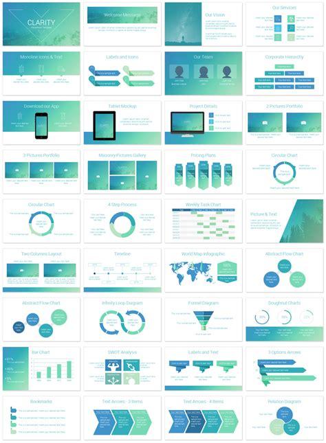Clarity Powerpoint Template Presentationdeckcom