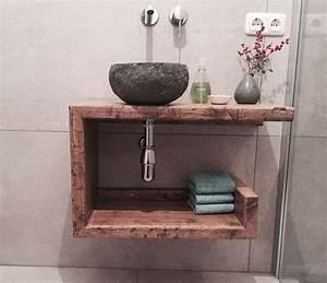 Waschbeckenschrank Für Aufsatzwaschbecken : die besten 17 ideen zu waschbecken g ste wc auf pinterest ~ Michelbontemps.com Haus und Dekorationen