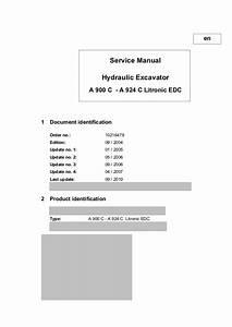 Liebherr A 924 C Litronic Edc Hydraulic Excavator Service Repair Manu U2026
