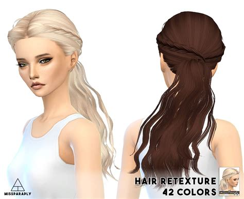 paraply skysims hairstyle retextured scc sims