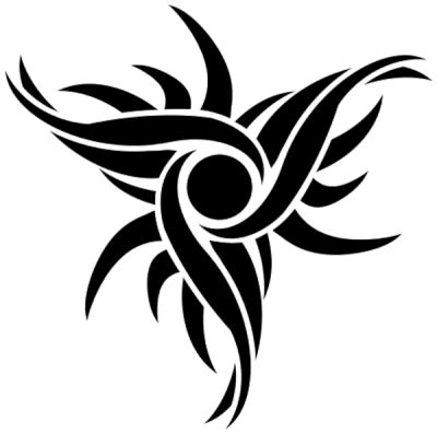 tribal tattoos  png transparent image  clipart