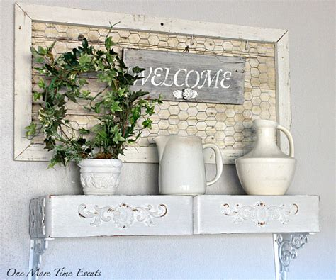 Wall Decor with DIY Farmhouse Projects   One More Time Events