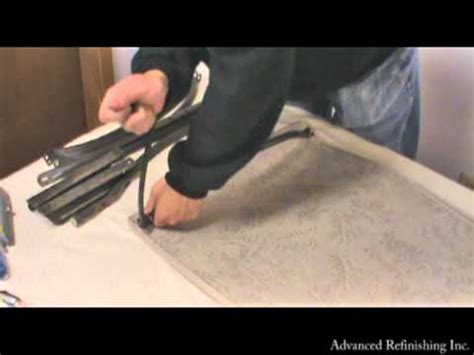 homecrest chaise lounge replacement sling installation