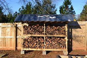 Firewood Storage From Pallets - YouTube