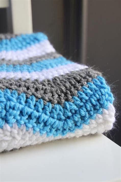 pattern  double crochet chevron baby blanket chevron