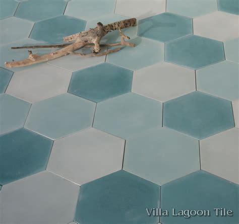 hex floor tiles mixed aqua hex cement tile from villa lagoon tile tile pinterest cement aqua and villas