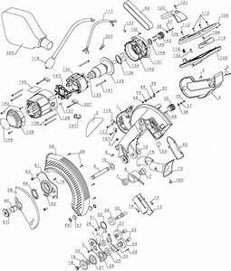 Dewalt Dw706 12 Dual Bevel Miter Saw Parts  Type 1  Parts