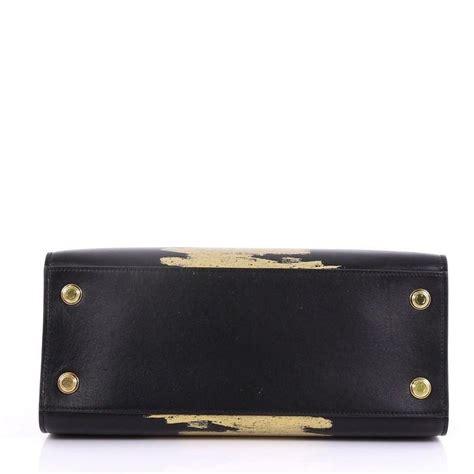 louis vuitton city steamer handbag golden light print leather mm  stdibs