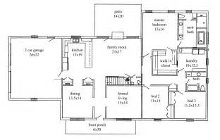 ranch homes floor plans ranch house floor plans viewing gallery