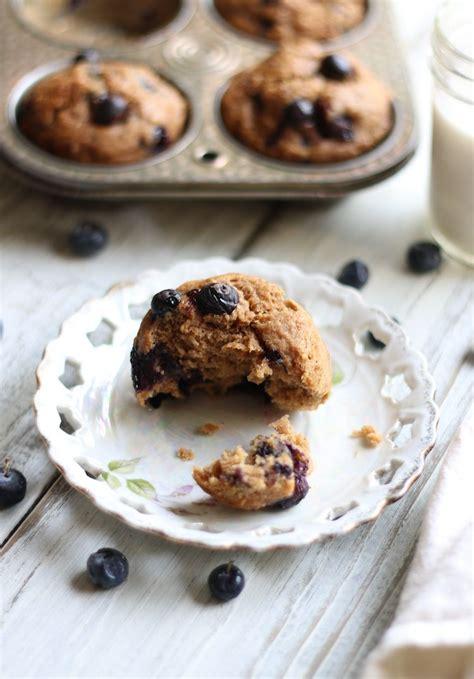 Spelt Banana Blueberry Muffins