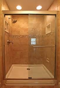Image of: Trend Homes Small Bathroom Shower Design The Proper Shower Tile Designs And Size