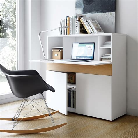 bureau secretaire blanc bureau meuble bureau d angle en verre lepolyglotte