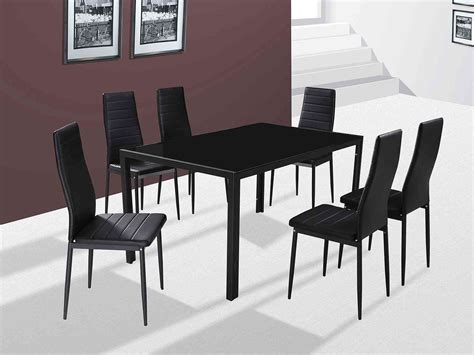 chairs and tables houston gfw the furniture warehouse houston 6 chair dining set