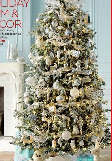 white tree with gold decorations white and gold and silver tree h o l l y j o l
