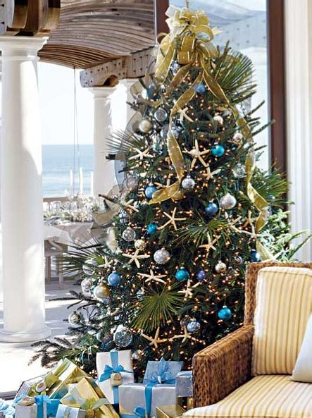 coastal christmas trees loving coastal living by seashellsbyseashore