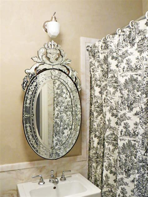 Black Oval Bathroom Mirror by Photo Page Hgtv