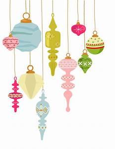 Retro Christmas Ornament Clipart (41+)