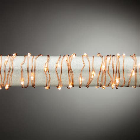 martha stewart living 10 ft 60 light warm white copper