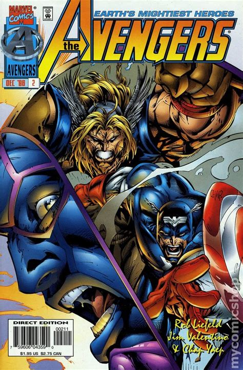 avengers   series comic books
