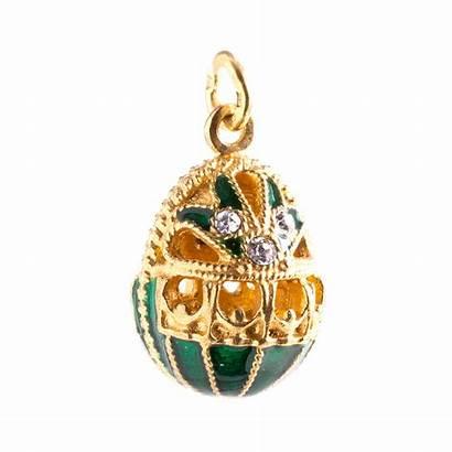 Faberge Egg Pendant Basket