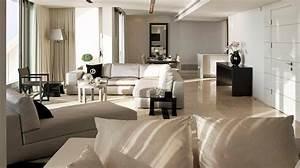 ophreycom decoration salon beige taupe tres clair With tapis chambre enfant avec jeté de canapé marron