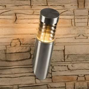 Außenleuchte Edelstahl Led : led wandleuchte au enleuchte wandlampe edelstahl ip44 ~ Watch28wear.com Haus und Dekorationen
