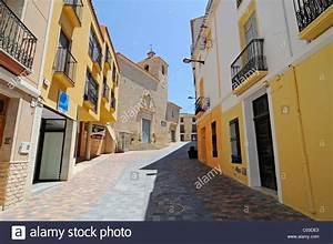 Church  Historic Town Centre  Busot Aiguees  La Vila Joiosa Stock Photo  Royalty Free Image
