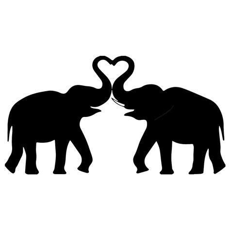 elephant stencil trunk up image result for elephant silhouette laser cut