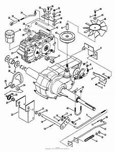 Snapper Lt14h411kv  80086  41 U0026quot  14 Hp Hydro Drive 1991 Series 1 Parts Diagram For Transmission Group