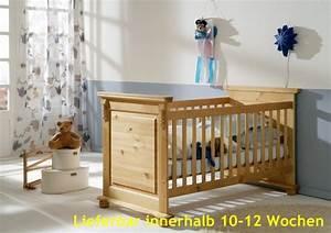 Babybett Am Bett : babybett sprossenbett kinderbett bett landhausstil kiefer massiv baby kinder jugendzimmer ~ Frokenaadalensverden.com Haus und Dekorationen